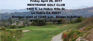 Annual Golf Tournament @ Westridge Golf Club | La Habra | California | United States